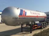 中国Hotsales 3axles 56m3 Q370 24mtバルクLPGのトレーラー