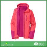 куртка зимы 3-in-1 с ваткой внутрь