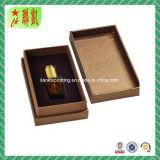 Rectángulo de papel de lujo del perfume del rectángulo de papel de la cartulina