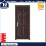 Porte intérieure composée stratifiée par PVC en bois solide