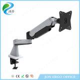 Grau Joint360 dobro de Jeo que gira 180 o montante ajustável do monitor da braçadeira da mesa da altura Ys-Ga12fu do preço de fábrica do giro do grau