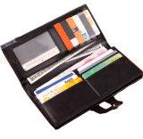 OEM 걸쇠 형식 선전용 선물을%s 고아한 PU 지갑 지갑