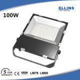 100 watts ao ar livre luz de inundação do diodo emissor de luz de 150 watts