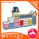 Modelo de plástico de tamanho grande Gavetas de infância do gabinete