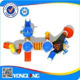 Apparatuur van de Speelplaats van kinderen de Plastic Openlucht (YL55615)