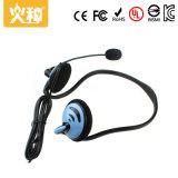 Auriculares estereofónicos de venda quentes do mini computador Hz-421 por atacado com microfone