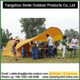 6 الناس خارجيّ رفاهية نوع خيش أسرة مربّع تغطية [ترب] خيمة