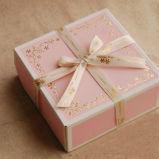 Contenitore di regalo di carta stampato abitudine per contenitore di carta di carta impaccante/piegante di torta di luna di luna della torta