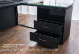 Высокий стол управленческого офиса хорошего качества с кожей (AT023A)
