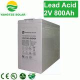 Bateria de energia solar de alta eficiência 2V 800ah