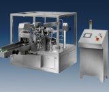 De automatische Roterende Machine van de Verpakking van de Zak Doy (Zak tribune-Up&Zip)