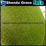 PEの単繊維材料25mmの合成物質の泥炭の中国の草