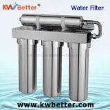 Filtro de água magnetizado com esterilização em aço inoxidável peculiar para casa