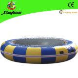 De Opblaasbare Trampoline van de Sprong van de Lucht van de fabriek, de Trampoline van het Water van het Zwembad