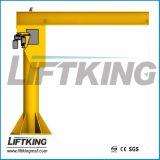 Grúa de horca del brazo del oscilación de Kbk, fabricante profesional de Liftking con la ISO y certificado del Ce