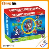 Brinquedo magnético de Neoformers do enigma da embarcação de navigação com 46PCS