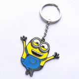 Fördernder Geschenk-Günstling-Metalschlüsselring-Farben-Decklack-Schlüsselkette Llavero Melalico