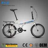 Bicicleta de dobramento adulta da liga de alumínio da roda barata de 7speed 20inch