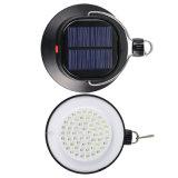 Lampada chiara solare di campeggio portatile di emergenza LED