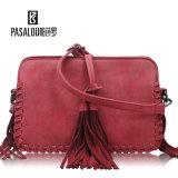 Disegni orizzontali di Classisc del sacchetto di spalla per gli accessori delle donne