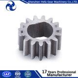Poulie en acier au carbone en acier au carbone Spur Gear 1045 à usages spéciaux