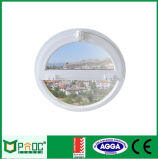 Painel circular de alumínio com vidro temperado para estilo europeu