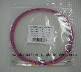 Cordon de connexion à plusieurs modes de fonctionnement de fibre optique du duplex 10g d'Om4 LC-LC