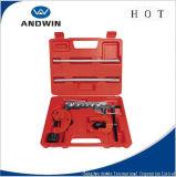 Conjunto de herramientas de la quema de la herramienta de aleteo y Swaging