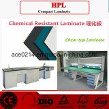 Laminado resistente químico de HPL/Compact 12.7m m Labench