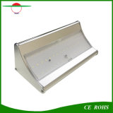48LED 4개의 작동 최빈값을%s 가진 옥외 통로를 위한 태양 코너 빛 900lm 레이다 운동 측정기 태양 정원 빛 벽 빛