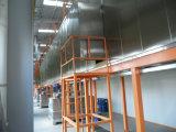 Riga di rivestimento elettrostatica automatica della polvere