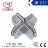 丸型360度のステンレス鋼のガラスハードウェアの付属品(CR-G37)