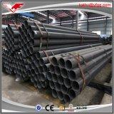 Mme peinte noire pipe en acier d'ASTM A53 4inch ERW