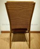 ホテルのスタック可能金属の鉄のアルミニウム会議室の会議の椅子