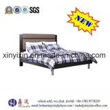 Кровать Ikea черного цвета одиночная с шкафом хранения (B12#)