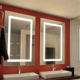 Espejo retroiluminado de pared con LED