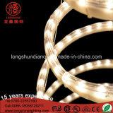 LED clignotant décoratif 3D Spiral Rope Lumière d'arbre de Noël pour la décoration jardin extérieur