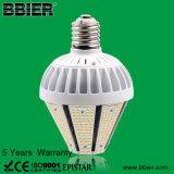 ETL 120lm/W de 40 vatios de luz LED Lámpara de jardín grueso E40