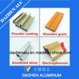 Tratamento de superfície popular anodizado para perfil de alumínio em alumínio