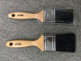 Pennello materiale della setola nera con la maniglia di legno