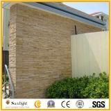 壁の/Roofingのタイルのための自然で黒く黄色い錆ついた多色刷りのスレート