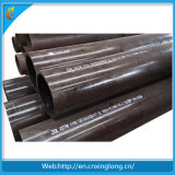 Barniz negro que cubre el tubo de acero inconsútil