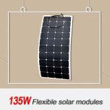Sortie d'usine un panneau solaire 135W de haute performance