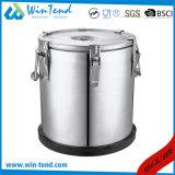 ステンレス鋼の容易な輸送のための絶縁された携帯用食糧容器
