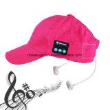 L'écouteur stéréo de Bluetooth de casquette de baseball de musique extérieure sans fil d'écouteur avec un câble de remplissage d'USB remet parler librement pour les sports courants Esg10208