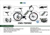 Aleación de aluminio de la E-Bicicleta de Cms-Tdf09z plegable Ebike