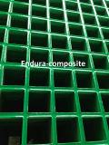 Reja moldeada FRP/GRP/reja de la fibra de vidrio/acoplamiento cuadrado