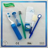 Orthodontische BambusChaocoal Zahnbürste-oraler Sorgfalt-Installationssatz