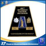 Moneta quadrata antica promozionale del metallo della vera fratellanza