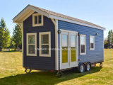 2017 Nuevo Tráiler Mobil Home Camping Chalet casa prefabricada de remolque casa móvil Fabricante de Th-030)